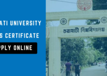 Gauhati University Pass certificate apply